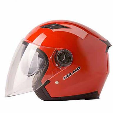 HELMO 208 Motorcycle Helmet Female Sunscreen Summer Helmet Motorcycle Girl Four Seasons General Help Battery Male Anti Fog