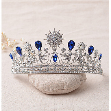 rhinestone legering tiaras headpiece elegant klassisk feminin stil
