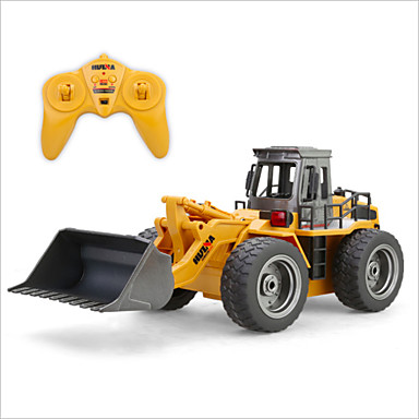RC Car HUINA 1520 6 Channel 2.4G Bulldozer 1:18 Brush Electric KM/H Remote Control / RC / Rechargeable / Electric