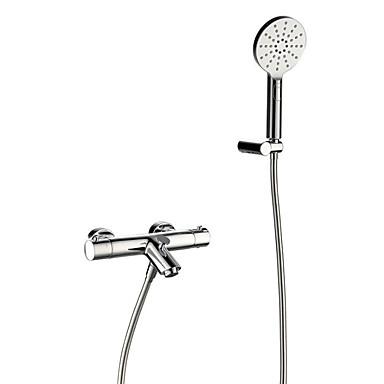 Bathtub Faucet - Contemporary Chrome Tub And Shower