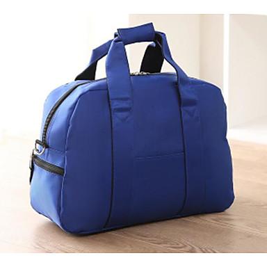 Women Travel Bag Oxford Cloth Polyester All Seasons Casual Outdoor Rectangle Zipper Blue Black Red Fuchsia