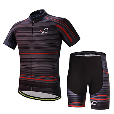 Men's Cycling Jersey with Shorts Bike Clothing Suits, Quick Dry