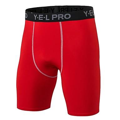 Homens Shorts de Corrida Fitness, Corrida e Yoga Secagem Rápida Design Anatômico Respirável Leve Esportes Shorts Calças Exercício e