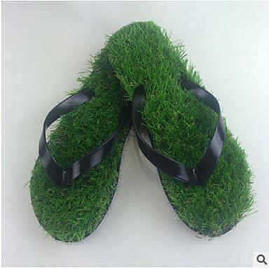 Men's Shoes PVC Summer Comfort Slippers & Flip-Flops For Casual Black