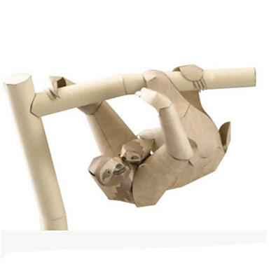 Quebra-Cabeças 3D Maquetes de Papel Brinquedos de Montar Animais Faça Você Mesmo Simulação Cartão de Papel Duro Clássico Crianças Unisexo Brinquedos Dom