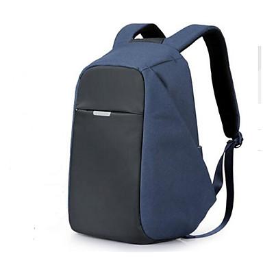 Men Shoulder Bag Polyester Cotton All Seasons Casual Outdoor Round Zipper Black Black Grey Navy Blue
