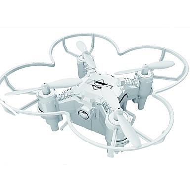 RC Drone FQ777 124+ Canal 4 6 Eixos 2.4G Quadcópero com CR Luzes LED / Retorno Com 1 Botão / Modo Espelho Inteligente Quadcóptero RC / Controle Remoto / Cabo USB / Vôo Invertido 360°
