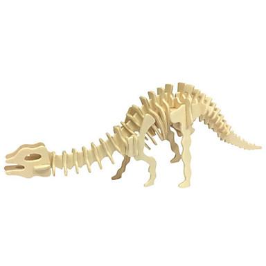 3D-puslespill Puslespill Tremodeller Modellsett Dinosaur Dyr 3D simulering GDS Tre Naturlig Tre Klassisk Barne Unisex Gave