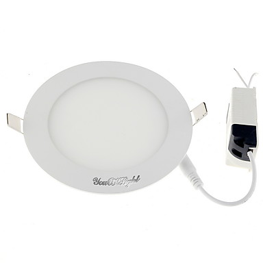 650 lm LED Nedfellt Panellys Varm hvit / Kjølig hvit 100-240 V / 220-240 V / 110-130 V Hjem / kontor / Barneværelser / Stue / spisestue / 1 stk. / 80