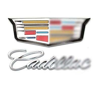 سيارة، شارة، السيارات، انحاز، أثر السيارات، ذيل، وقع، ب، كاديلاك