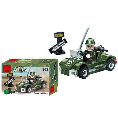 ENLIGHTEN Játékautók / Építőkockák / Építőkocka minifigurák Katonai / Autó Fun & Whimsical Fiú Ajándék