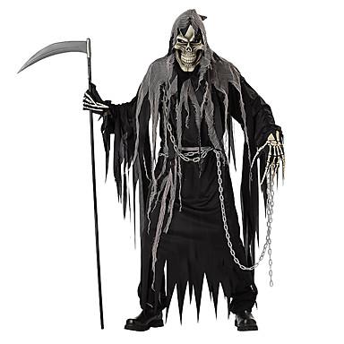 Csontváz / Halálfej Nagy kaszás Szerepjáték Szerepjáték Jelmezek Halloween-kellékek Férfi Női Mindszentek napja Farsang A halál napja