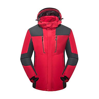 LEIBINDI Damen 3-in-1 Jacken Außen Winter warm halten Atmungsaktiv Wasserdicht 3-in-1 Jacken Oberteile Camping & Wandern Klettern Laufen