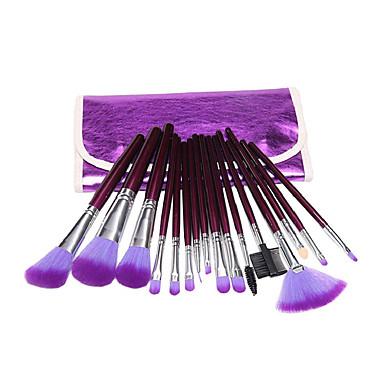 16pcs Makeup Brushes Professional Makeup Brush Set / Blush Brush / Eyeshadow Brush Synthetic Hair Beech Wood