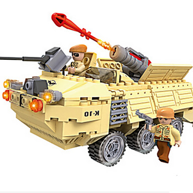 Játékautók / Építőkockák Tank / Harcos / Harci szekér Fun & Whimsical Fiú Ajándék