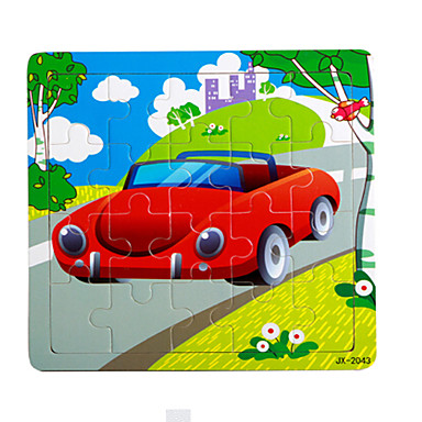 Holzpuzzle Spielzeuge Auto andere Cartoon Shaped Unisex Stücke