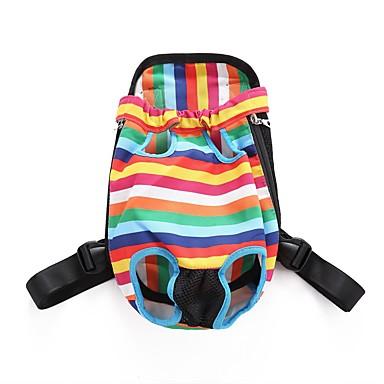 Cat Dog Carrier & Travel Backpack Front Backpack Dog Pack Pet Carrier Adjustable / Retractable Portable Breathable Foldable Soft Color