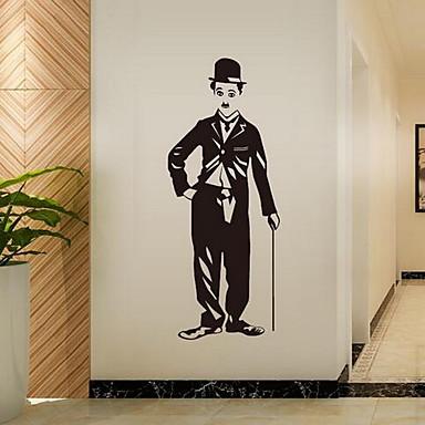 Tiere Personen Wand-Sticker Flugzeug-Wand Sticker Dekorative Wand Sticker Stoff Haus Dekoration Wandtattoo
