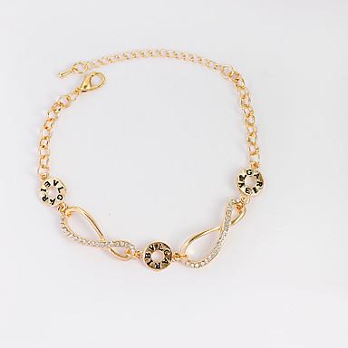 Women's Chain Bracelet Tennis Bracelet - Fashion Bracelet Gold / Silver For Birthday Gift