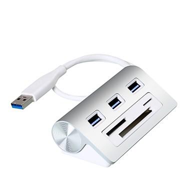 Rocketek 3 USB-Hub USB 3.0 USB 3.0 Mit Kartenleser (n) / Daten Halter / Eingangsschutz Daten-Hub