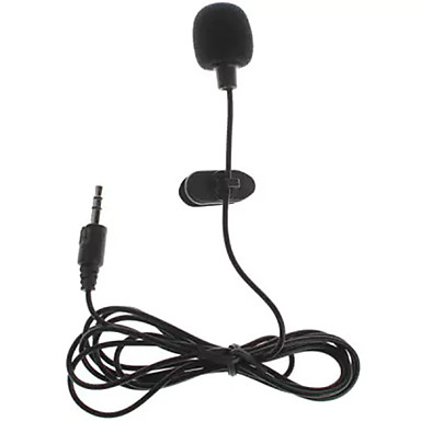 GM16 Wired Microphone Ribbon Microphone Clip-on  Microphone For PC