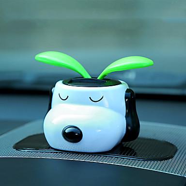 Diy autóipari díszek napfény megrázta a fejét rajzfilm babák autó medál&Díszek abs-gyanta