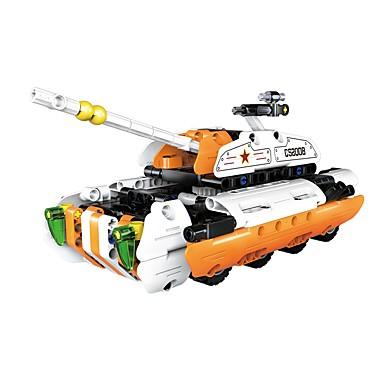 Játékautók / Építőkockák / Fejlesztő játék Tank / Harcos / Autó átalakítható / DIY Fiú Ajándék