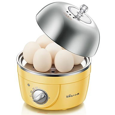 Eierkocher Single Eggboilers Multifunktion Kreativ Timing-Funktion Aufrechtes Design Geräuscharm Licht-Spannungsanzeige Abnehmbar 220V