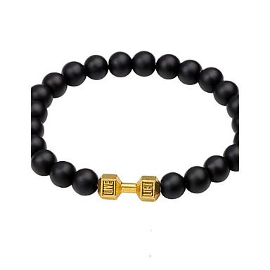 Men's Chain Bracelet - Personalized, Luxury, Geometric Bracelet Gold / Black / Silver For Christmas Wedding Party