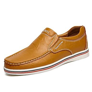 Χαμηλού Κόστους Shoes Trends-Ανδρικά Comfort Loafers Δερμάτινο Καλοκαίρι / Φθινόπωρο Μοκασίνια & Ευκολόφορετα Μαύρο / Σκούρο μπλε / Καφέ