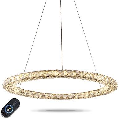 Divatos és modern Csillárok Háttérfény - Kristály Állítható Tompítható, 110-120 V 220-240 V, Távirányítóval szabályozható, LED fényforrás