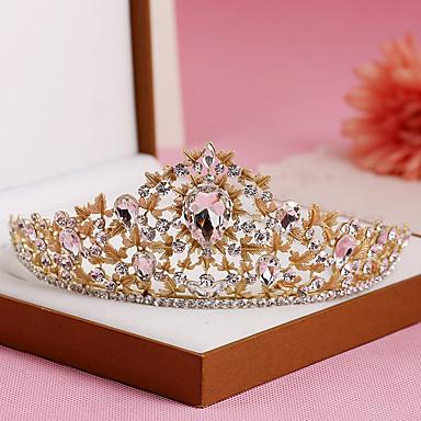 Rhinestone / Alloy Tiaras / Headbands with 1 Wedding / Special Occasion / Birthday Headpiece