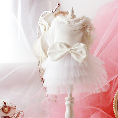 Hund Kleider Hundekleidung Hochzeit Prinzessin Weiß Kostüm Für Haustiere
