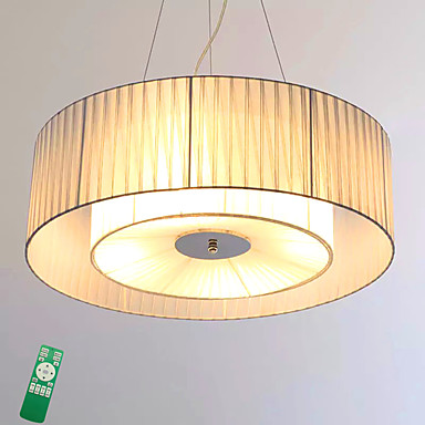 Flush Mount Ambient Light - Bulb Included, 220-240V, Dimmable With Remote Control, LED Light Source Included / 15-20㎡ / LED Integrated