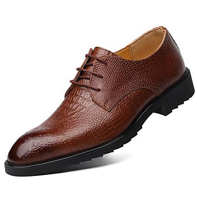 Férfi cipő Bőr Tél Tavasz Nyár Ősz Formai cipő Újdonság Félcipők Kombinált mert Hétköznapi Hivatal és karrier Szabadtéri Party és Estélyi