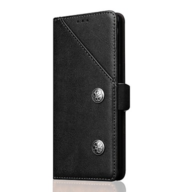 Case For Samsung Galaxy Note 8 Card Holder with Stand Flip Full Body Cases Solid Color Hard PU Leather for Note 8