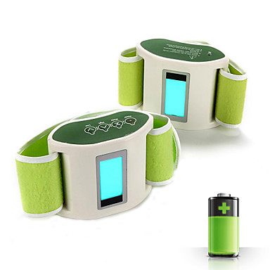 Lábak Karosszéria Derék Has Hát Ülep Masszírozó öv Gomb Rezgés Hot Pack Segít a fogyásban Hordozható Elektromos Csökkenti a hátfájdalmat
