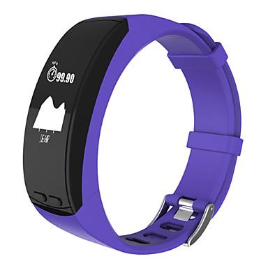 Intelligens karkötő GPS Érintőképernyő Szívritmus monitorizálás Vízálló Elégetett kalória Lépésszámlálók Edzésnapló Távolságmérés APP