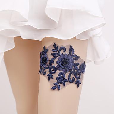 Elastic Wedding Garter with Flower(s) Wedding AccessoriesClassic Elegant Style