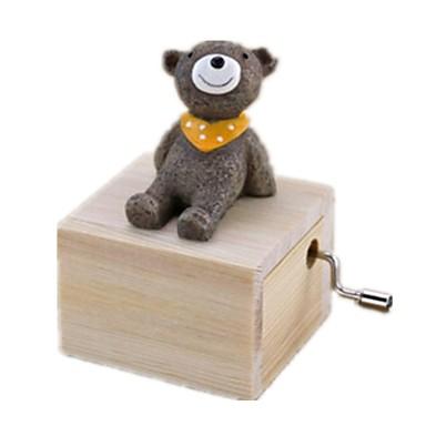 Zenedoboz Körhinta / Medve Állatok / Szeretetreméltő Gyermek / Felnőttek / Gyerekek Ajándék Uniszex