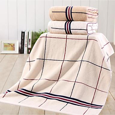 Bath Towel,Checkered High Quality 100% Cotton Towel