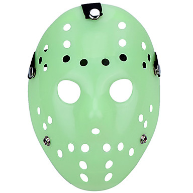 Halloween maszkok Vicces kütyü Halloween-kellékek Álarcosbál maszkok Foszforeszkáló Fénycső Újdonság Étel és ital Műanyag Darabok Uniszex