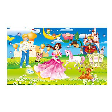 Fejtörő Fából készült építőjátékok Fejlesztő játék Nap Ló Rajzfilmfigura Virág Gyümölcs Fa Anime Rajzfilmfigura Uniszex Ajándék