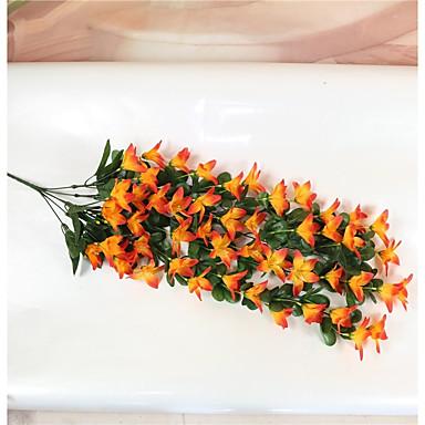 Künstliche Blumen 1 Pastoralen Stil Lilien Wand-Blumen / Nicht enthalten