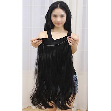 Flip In Human Hair Extensions Classic Human Hair Extensions Human Hair Halo Extensions Women's
