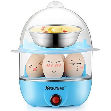 Eierkocher Doppel-Eierstöpsel Gesundheit Licht und Bequem Waschbar Abnehmbar 220V