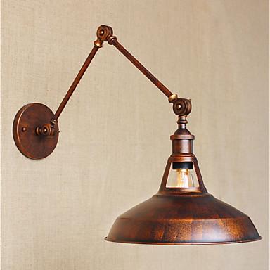 Egyszerű / Vintage / Retro Swing kar fények Fém falikar 110-120 V / 220-240 V 40W / E26 / E27