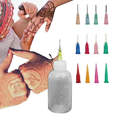 henna aplicador kit tatuagem temporária de tinta corpo mehndi ervas