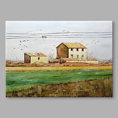 Handgemalte Abstrakt Horizontal, Abstrakt Segeltuch Hang-Ölgemälde Haus Dekoration Ein Panel