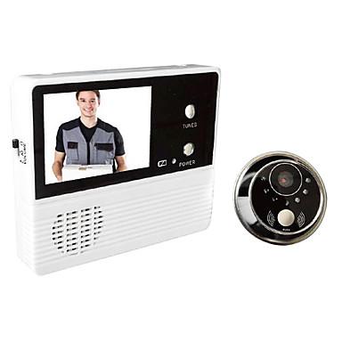 gw601b-2bh 3v / 0.6w monitor de 2,4 polegadas porta doméstica porta-voz porta-voz video porta sistema telefônico